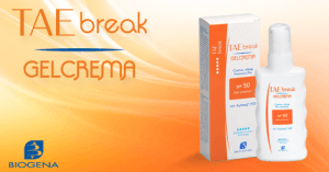 TAE Break Gelcrema - Biogena